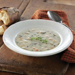 Cream of Chicken Soup w/ Wild Rice