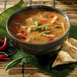 Thai Chicken Soup w/ Red Curry