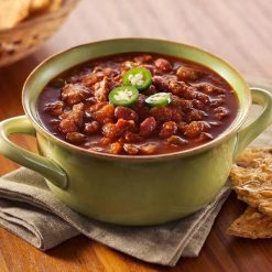 Turkey Chili w/ Beans