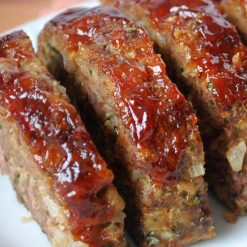 Grassfed Meatloaf w/ Homemade Ketchup
