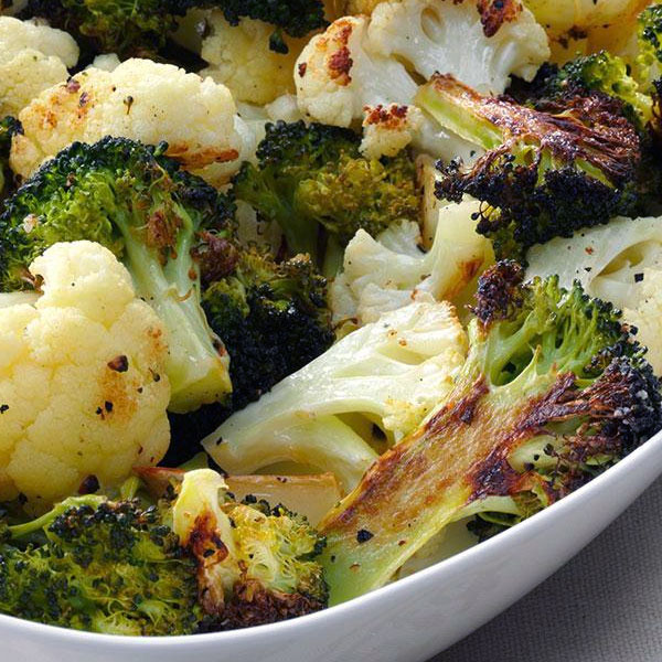 roasted-broccoli-cauliflower